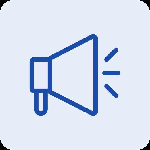 Campaign management icon