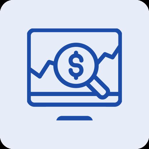 Competitor price monitoring icon