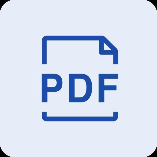 Product sheet PDF generator icon