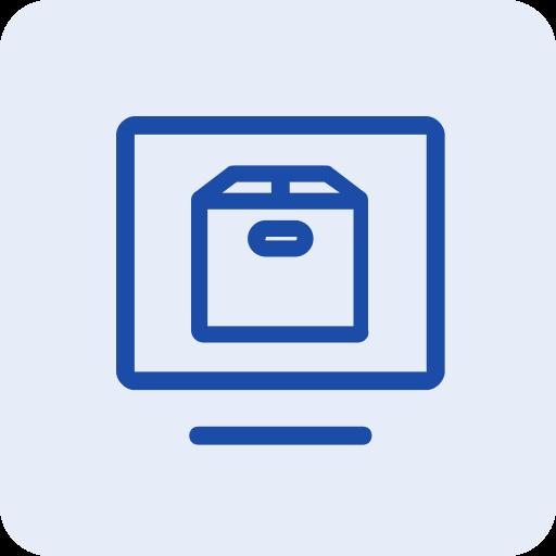 Digital Twin content store icon